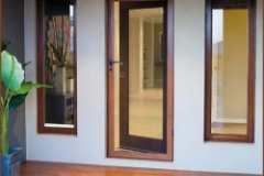 Decowood timber powder coat
