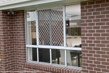 Diamond Window Grille